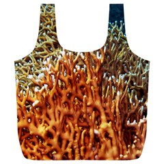 Fire Coral 1 Full Print Recycle Bags (l)