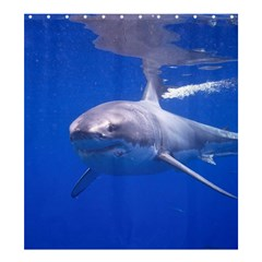 Great White Shark 4 Shower Curtain 66  X 72  (large)