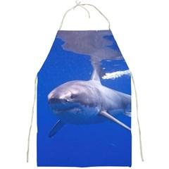 Great White Shark 4 Full Print Aprons