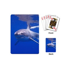 Great White Shark 4 Playing Cards (mini)