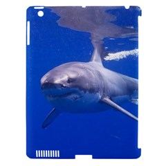 Great White Shark 4 Apple Ipad 3/4 Hardshell Case (compatible With Smart Cover)