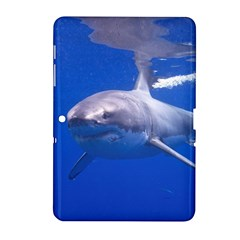 Great White Shark 4 Samsung Galaxy Tab 2 (10 1 ) P5100 Hardshell Case