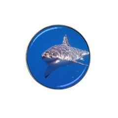 Great White Shark 5 Hat Clip Ball Marker (10 Pack)