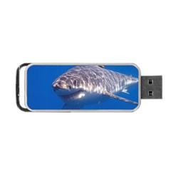 Great White Shark 5 Portable Usb Flash (two Sides)