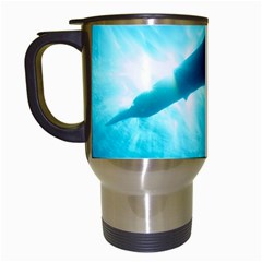Great White Shark 6 Travel Mugs (white)