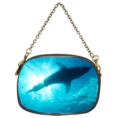 Great White Shark 6 Chain Purses (two Sides)