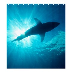 Great White Shark 6 Shower Curtain 66  X 72  (large)
