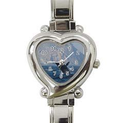 Humpback 1 Heart Italian Charm Watch