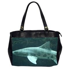 Leopard Shark Office Handbags (2 Sides)