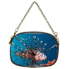 Lionfish 1 Chain Purses (two Sides)