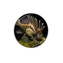 Lionfish 3 Hat Clip Ball Marker