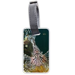 Lionfish 4 Luggage Tags (one Side)