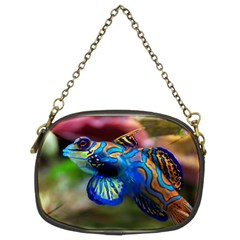 Mandarinfish 1 Chain Purses (two Sides)