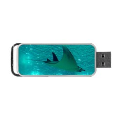 Manta Ray 1 Portable Usb Flash (two Sides)