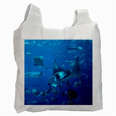 Manta Ray 2 Recycle Bag (one Side)