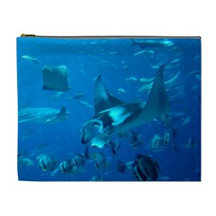 Manta Ray 2 Cosmetic Bag (xl)