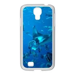 Manta Ray 2 Samsung Galaxy S4 I9500/ I9505 Case (white)