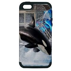 Orca 1 Apple Iphone 5 Hardshell Case (pc+silicone)