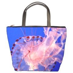 Purple Jellyfish Bucket Bags