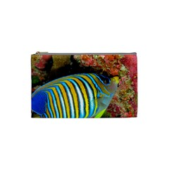 Regal Angelfish Cosmetic Bag (small)
