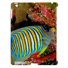 Regal Angelfish Apple Ipad 3/4 Hardshell Case (compatible With Smart Cover)