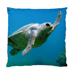 Sea Turtle 2 Standard Cushion Case (two Sides)