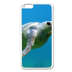 Sea Turtle 2 Apple Iphone 6 Plus/6s Plus Enamel White Case