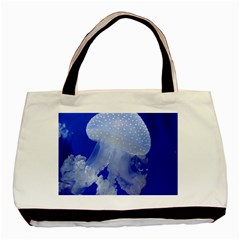 Spotted Jellyfish Basic Tote Bag