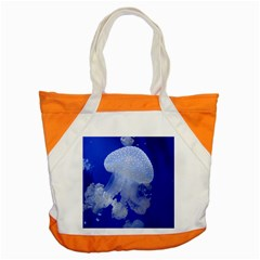 Spotted Jellyfish Accent Tote Bag