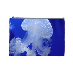 Spotted Jellyfish Cosmetic Bag (large)