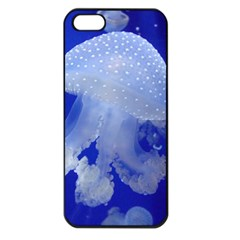 Spotted Jellyfish Apple Iphone 5 Seamless Case (black)