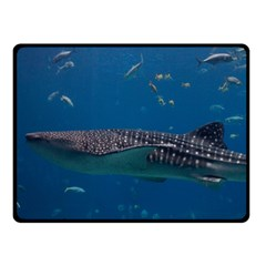 Whale Shark 1 Fleece Blanket (small)