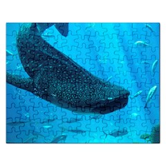 Whale Shark 2 Rectangular Jigsaw Puzzl