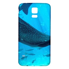 Whale Shark 2 Samsung Galaxy S5 Back Case (white)