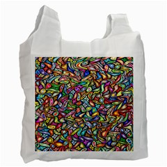 Artwork By Patrick Colorful 6 Recycle Bag (two Side)