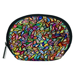 Artwork By Patrick Colorful 6 Accessory Pouches (medium)
