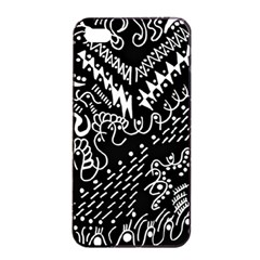 Chicken Hawk Invert Apple Iphone 4/4s Seamless Case (black)
