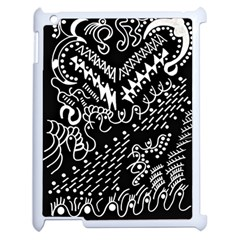 Chicken Hawk Invert Apple Ipad 2 Case (white)