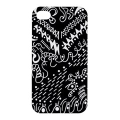 Chicken Hawk Invert Apple Iphone 4/4s Premium Hardshell Case