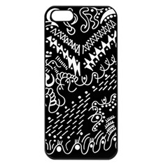 Chicken Hawk Invert Apple Iphone 5 Seamless Case (black)