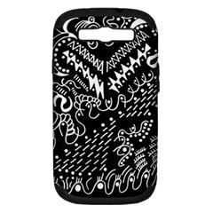 Chicken Hawk Invert Samsung Galaxy S Iii Hardshell Case (pc+silicone)