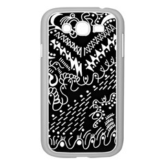 Chicken Hawk Invert Samsung Galaxy Grand Duos I9082 Case (white)