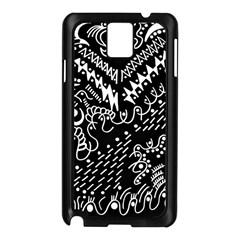 Chicken Hawk Invert Samsung Galaxy Note 3 N9005 Case (black)