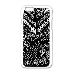 Chicken Hawk Invert Apple Iphone 6/6s White Enamel Case