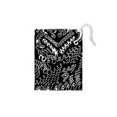 Chicken Hawk Invert Drawstring Pouches (xs)