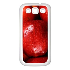Apples 1 Samsung Galaxy S3 Back Case (white)