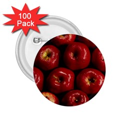 Apples 2 2 25  Buttons (100 Pack)