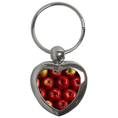 Apples 2 Key Chains (heart)