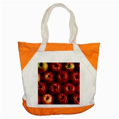 Apples 2 Accent Tote Bag