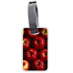 Apples 2 Luggage Tags (two Sides)